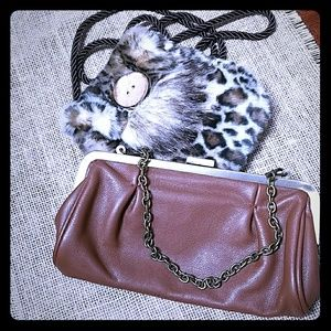 unlisted bag and Christine Clarke bag